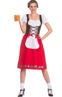 Traditional Bavarian Beer Girl Costume (EF2260)